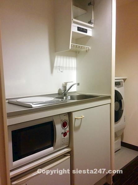 キッチン周りもスペースがあります。