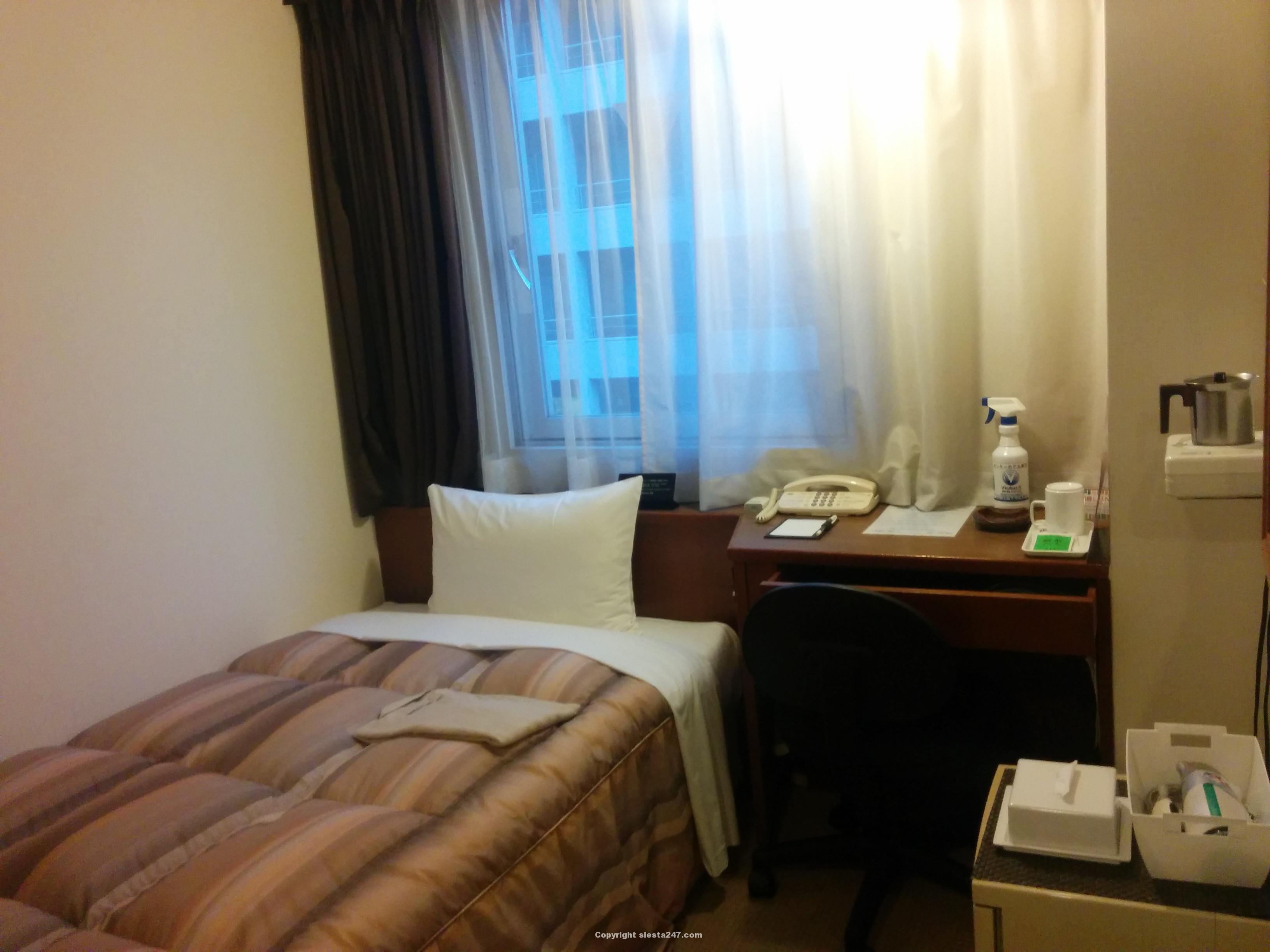 センターホテル東京の部屋
