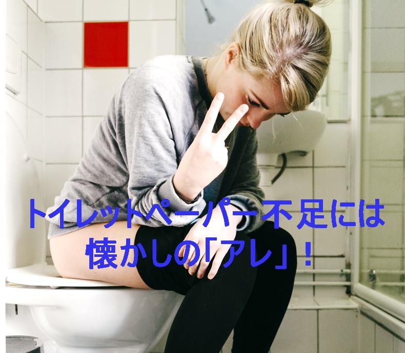 【解決!】トイレットペーパー不足!解消されるまでの分が今すぐ欲しい!