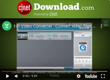 【無料!】Free HD Video Converter Factory【HDビデオ変換ソフト】