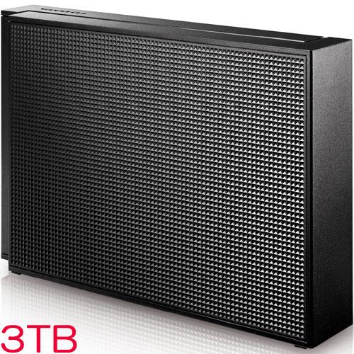 【3TB 外付けHDD 7,980円】アイオーデータ EX-HD3CZ